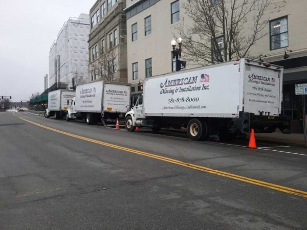 Commercial Movers Boston, American Moving & Installation