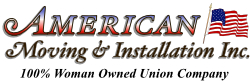 American Moving and Installation Logo