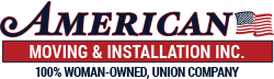American Moving & Installation Logo